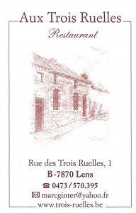 Aux Trois Ruelles